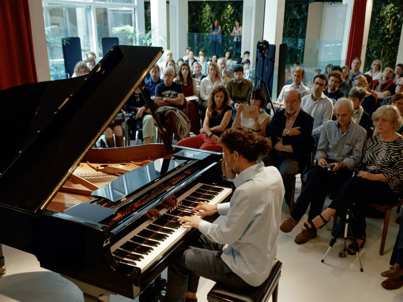 Piano City Milano in Clubhouse
